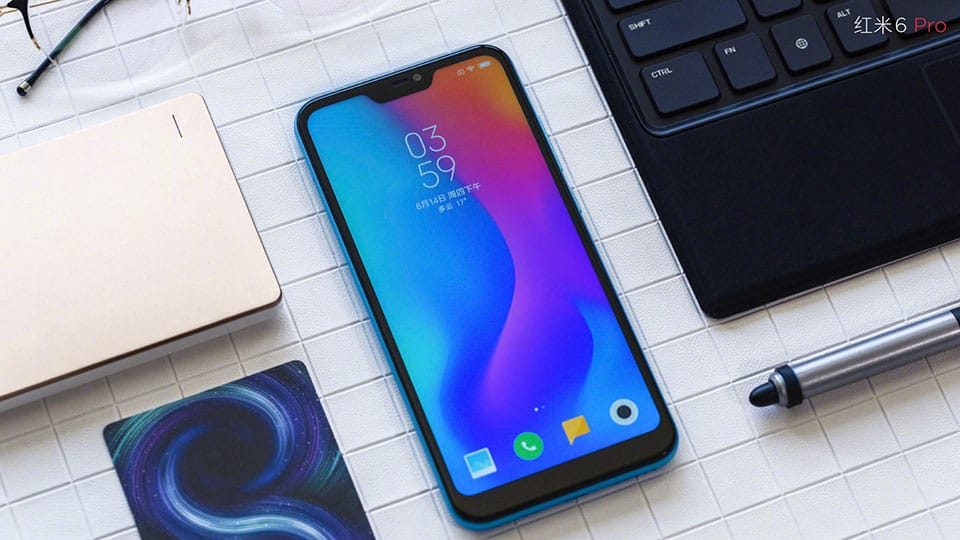 Xiaomi Redmi 6 Pro Bali Blue Goes On Sale With Dual Cam