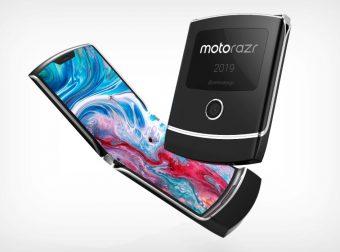 Moto RAZR foldable phone