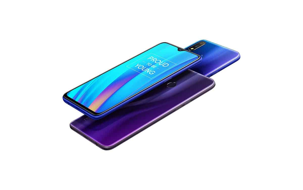 Realme 3 Pro Lightning Purple